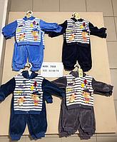 Велюровые костюмчики для деток 62-74
