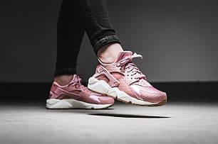 "Кроссовки Nike WMNS Air Huarache Run Premium ""Pink/White"", фото 2"