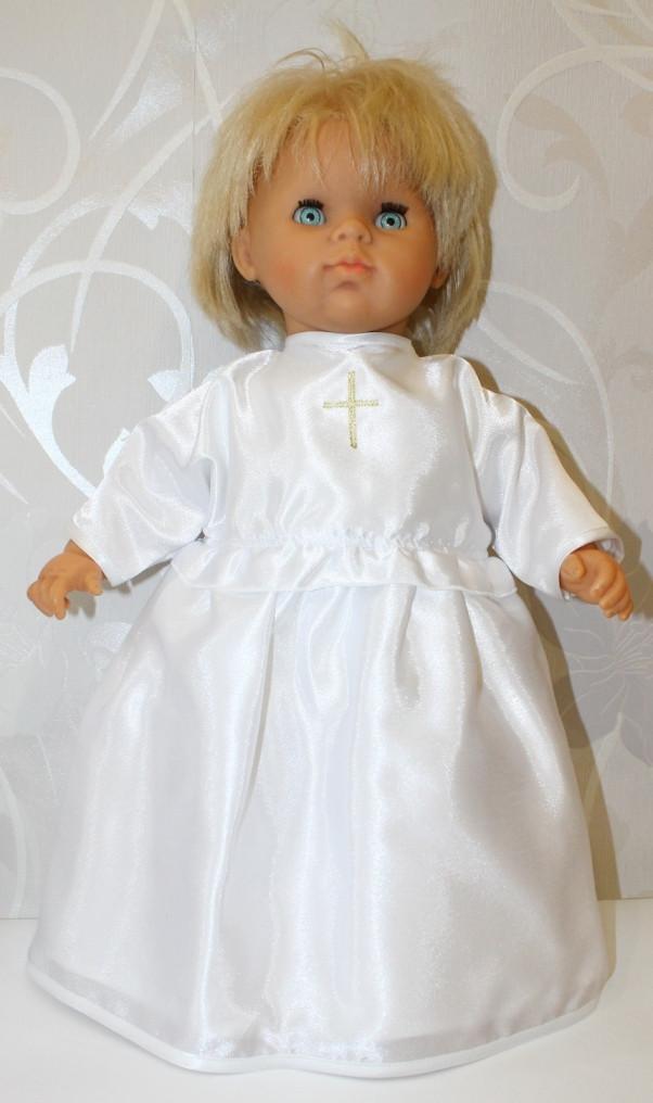 """Сорочка для крещения """"Крестик"""""""