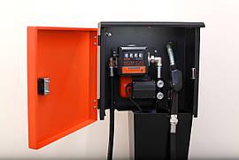 Топливораздаточная колонка для топлива в металлическом ящике DELTA AC-70, 220В, 70 л/мин