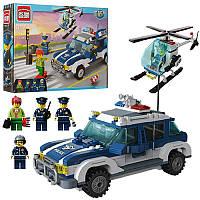 """Конструктор """"Brick """" 1117 (20шт) """"Полиция """" 393 дет., 6+лет, в кор."""