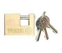 Замок Vorel AR66526 латунный 65 мм
