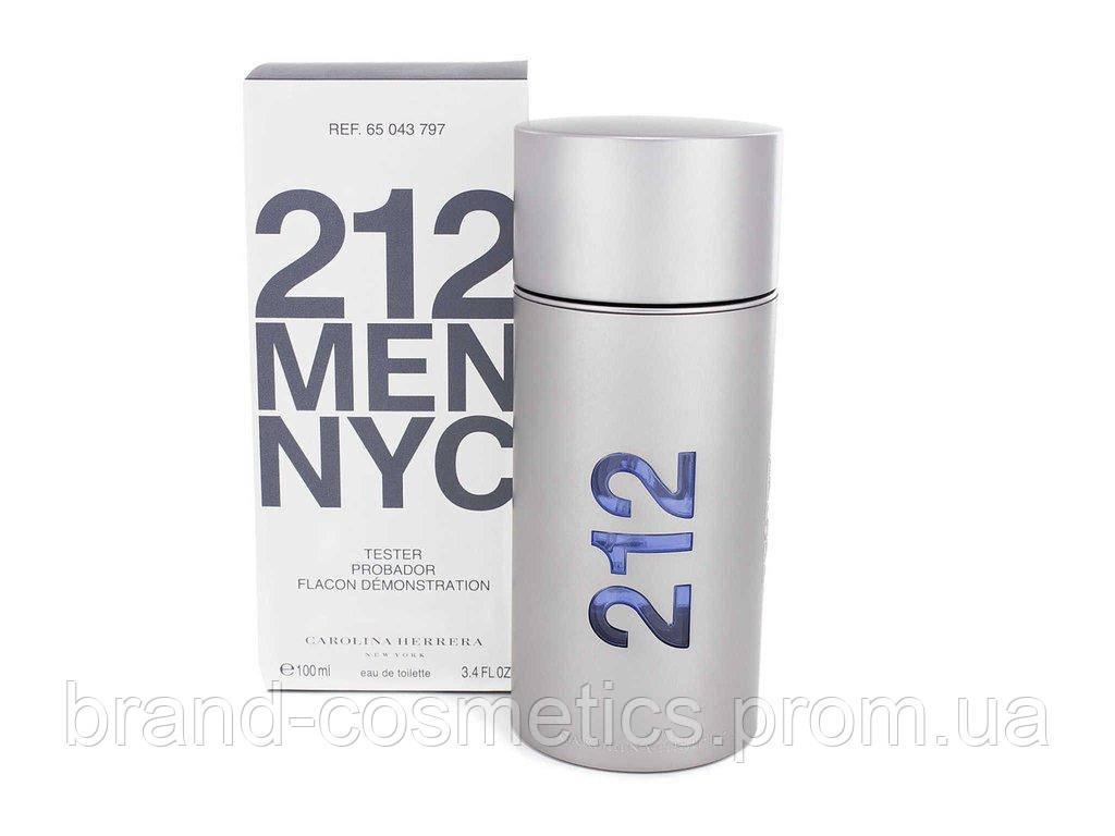 Carolina Herrera 212 Men NYC 100 мл TESTER  мужской