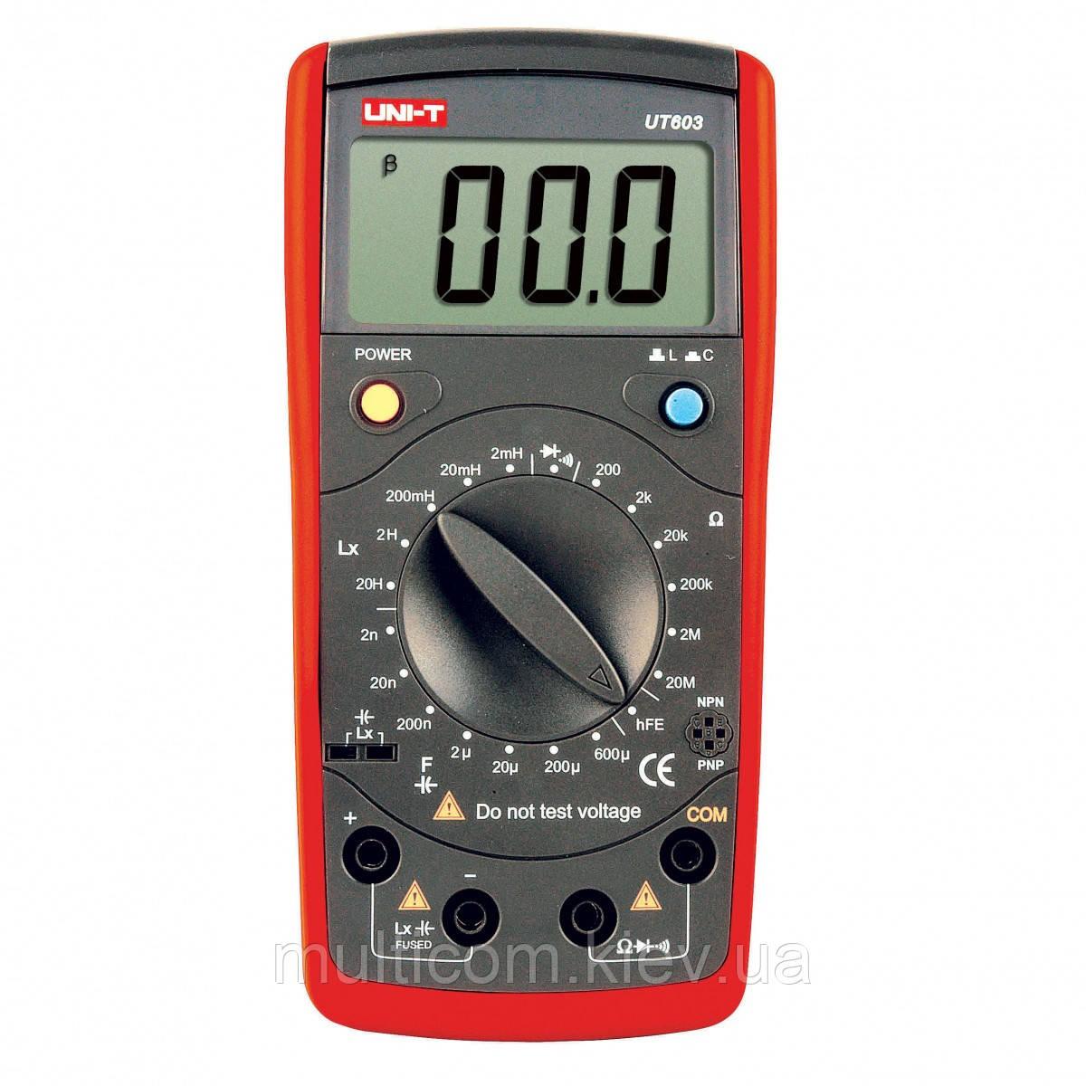 17-05-011. Мультиметр сопротивления и индуктивности UNI-T UT-603