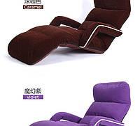 Кресло трансформер с подлокотниками. Фиолетовое. (C3)