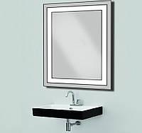 Зеркало с LED подсветкой 533х683 мм d-54