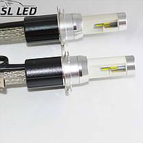 Комплект LED ламп ДХО и дальний свет, SL-R4 Цоколь H15 (PGS23t-1), 30W, 3600 Люмен, фото 3