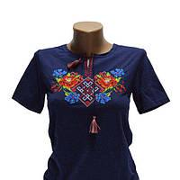 Женская футболка вышиванка Лариса2