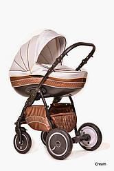 Детская коляска универсальная 2 в 1 Ammi Ajax Group Pride Cream