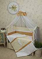 Детский комплект постельного белья для новорожденных Рандеву