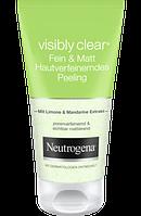 Neutrogena Peeling Visibly Clear Fein & Matt - Пилинг для лица  с матирующим эффектом, 150 мл