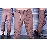 Мужские коттоновые спортивные штаны №01 (р.М-2XL)