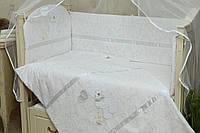 Комплект сменного постельного белья в кроватку Симпатяшка