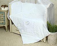 Постельный сменный комплект в кроватку Непоседа