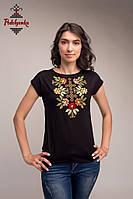 Жіноча блуза Самоцвіт золотий, рукав-кімоно, фото 1