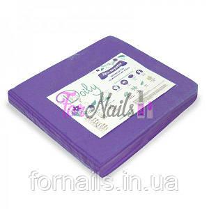 Простынь одноразовая фиолетовая 20 шт, р-р 0.8*2 м, Doily
