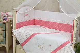 Постельное белье для новорожденных в кроватку (без балдахина)  Рандеву