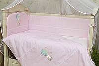 Детское постельное белье для новорожденных (без балдахина) Круиз