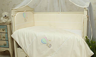 Постельное белье для новорожденных в кроватку (без балдахина) Круиз