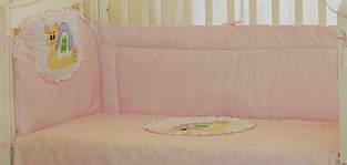 Постельное белье в детскую кроватку Улитка