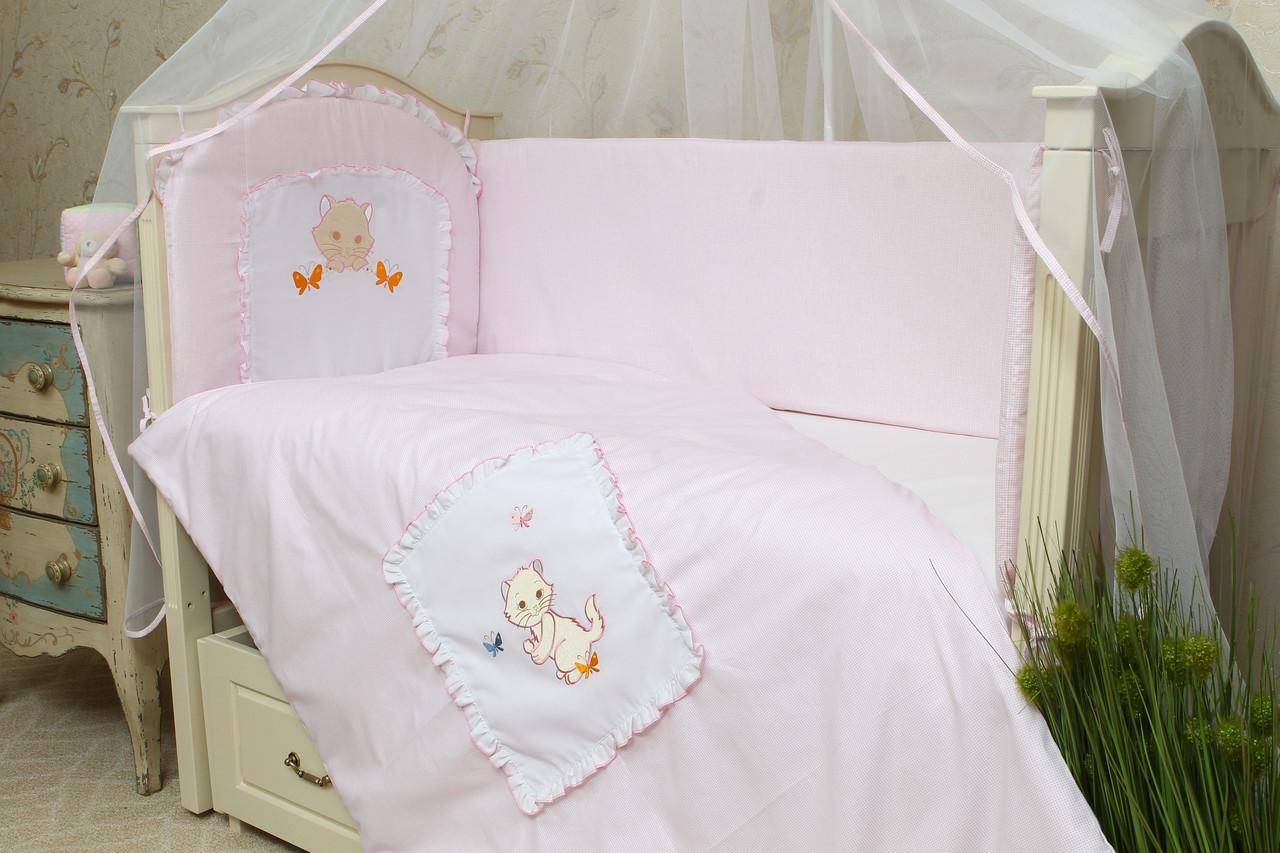 Постільна білизна в дитячу ліжечко Котик
