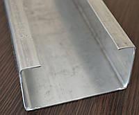 Профиль С стальной оцинкованный гнутый
