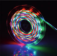 Герметичная RGB лента GTV LED FLASH SMD5050 36Вт 450Лм/м IP65, бобина 5м