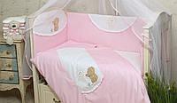 Защита в кроватку для новорожденных Солнышко