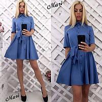 Женское платье 62- на пуговках