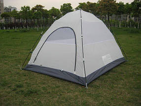 Палатка двухместная GreenCamp 3006 с тамбуром водонепроницаемая палатка походная, фото 2
