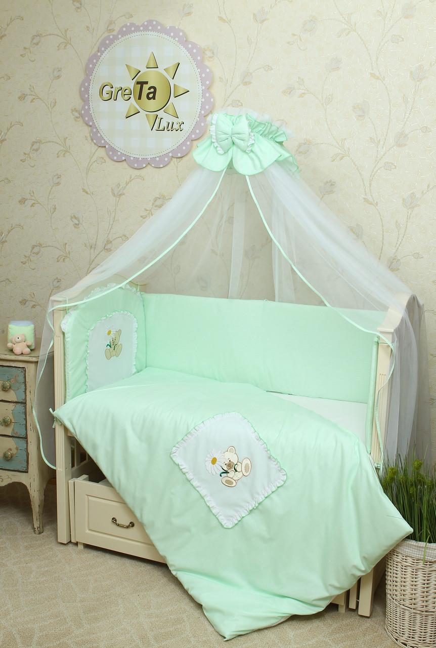 Постельное белье для новорожденных Мишка