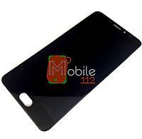 Модуль для Meizu M5 Note M621 (Дисплей + тачскрин) черный, оригинал
