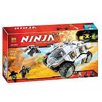 """Конструктор BELA NINJA 10523 (36шт/2) """"Титановый вездеход ниндзя """", 362дет., в собр.кор 39*22*6, 5см"""