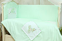 Детское сменного постельное белье Зайчик