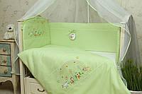 Защита в кроватку для новорожденных Радуга