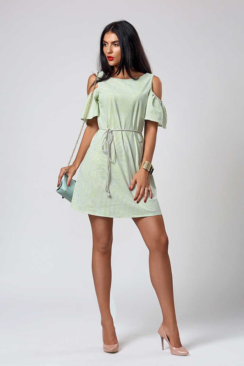 Платье мод. 515-7,размер  42,44 салатовое