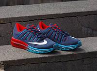 Кроссовки  Nike Air Max 2016 Blue Red РАСПРОДАЖА 39!, фото 1