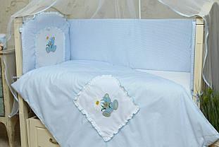 Комплект постельного белья для новорожденных Мишка