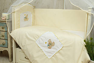 Детское постельное белье для новорожденных Мишка