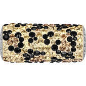 181974 BeCharmed Pave Leopard Bead