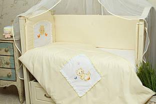 Набор постельного белья в детскую кроватку Котик