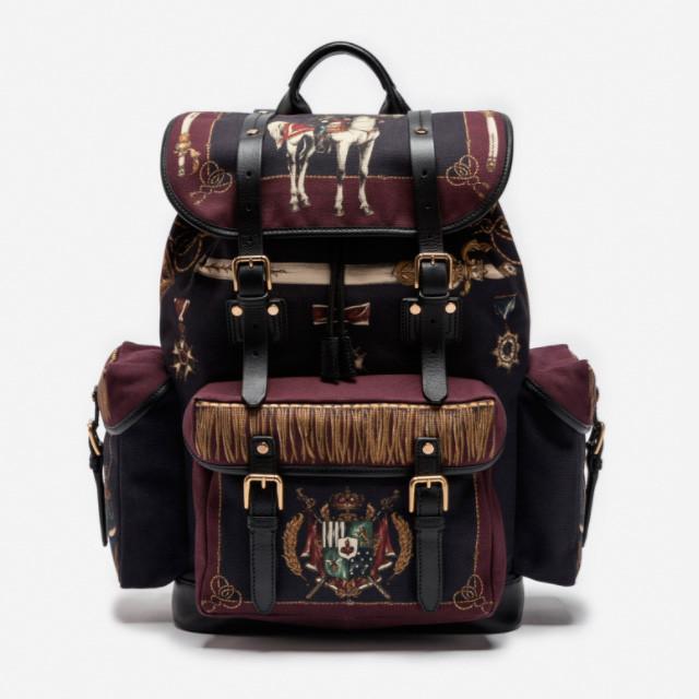 Рюкзак в стиле милитари Dolce&Gabbana