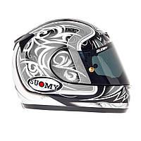 Фирменный шлем CASCO SY APEX TORNADO SIL/ANT размер  М