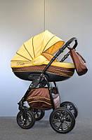 Детская коляска универсальная 2 в 1 Ammi Ajax Group Pride Banana