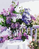 Картина по номерам Букет сирени КНО1074