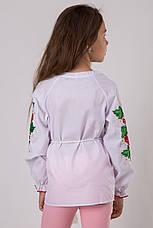 Вышитая блуза для девочки с калиной, фото 3