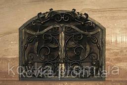 Кованая решетка на  камин