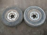 Диски колесные Волга + шины 205 70 R14 пара 2шт