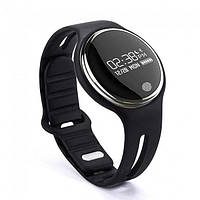 Часофон -смарт часы Фитнес браслет Watch Makibes E07 черные Bluetooth 4.0 влагозашита IP67 черные