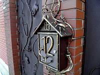 Почтовый ящик с декоративной оковкой, фото 1